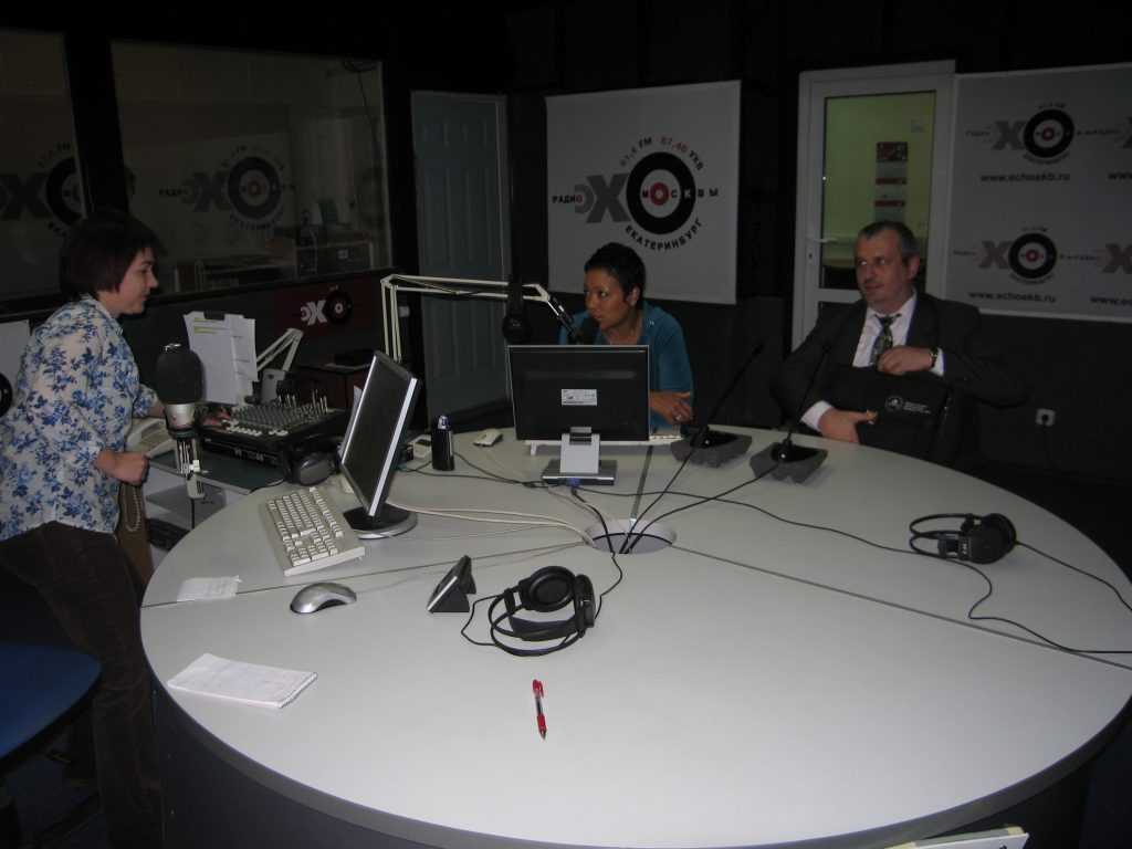 Moscow, Russia Radio Interview