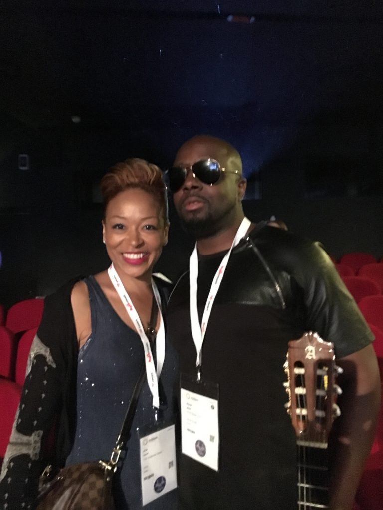 Wyclef Jean at MIDEM in Cannes, France