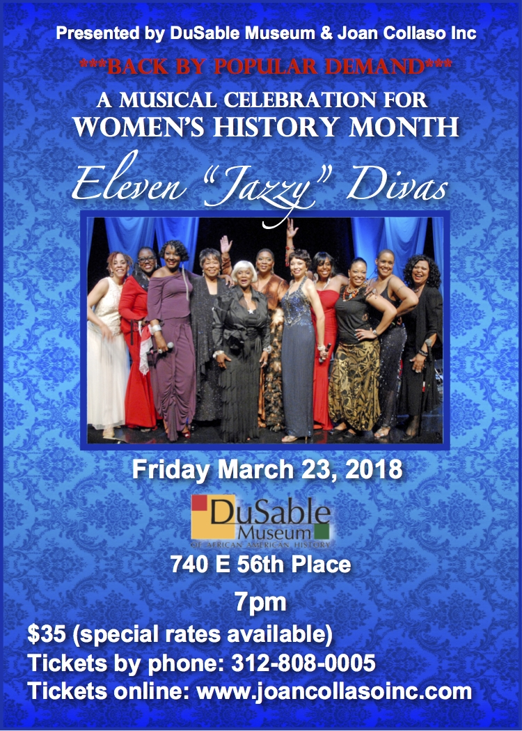 Eleven Jazzy Divas @ Dusable Museum of African American History | Chicago | Illinois | United States